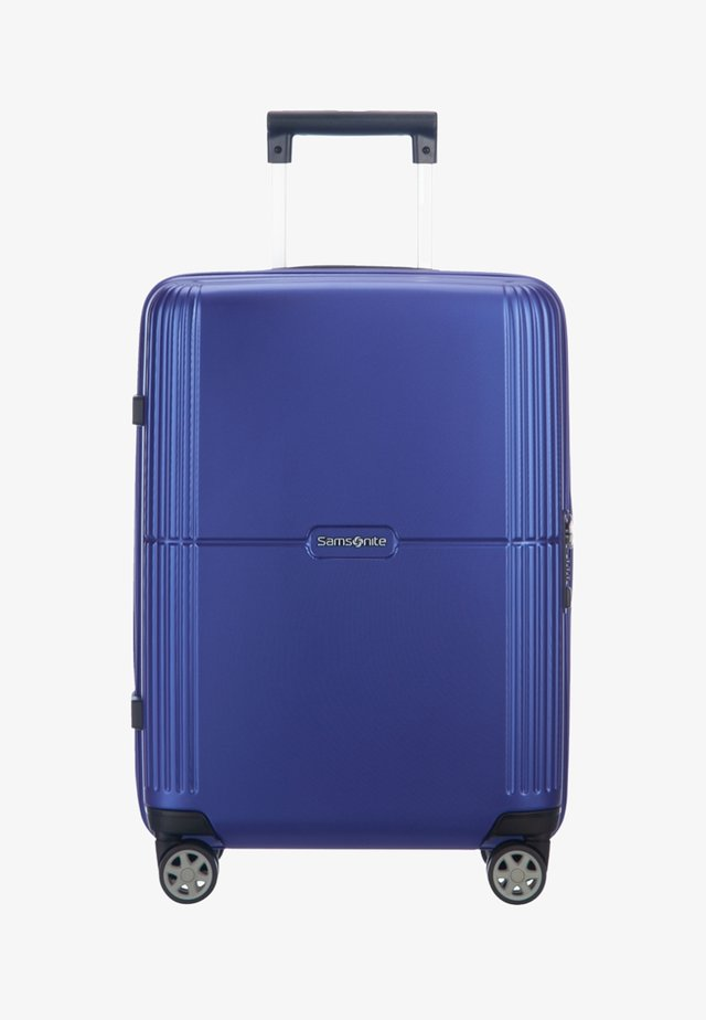 Wheeled suitcase - royal blue