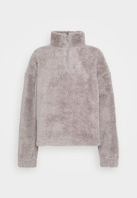 Nly by Nelly - HALF ZIP - Fleece jumper - gray - 4