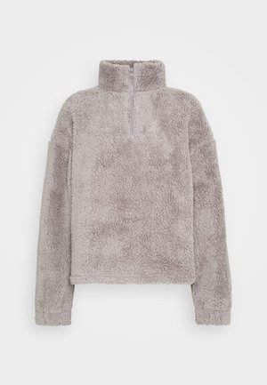 HALF ZIP - Fleece trui - gray