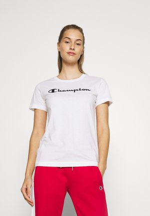 ESSENTIAL CREWNECK LEGACY - T-shirt imprimé - white