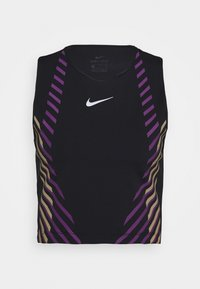 Nike Performance - RUNWAY - Sports shirt - black/silver - 4