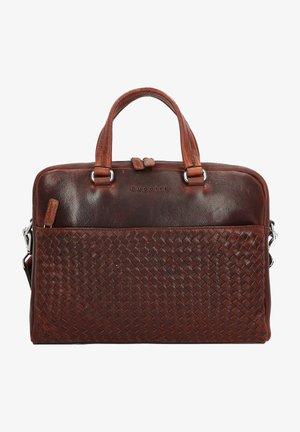 Briefcase - british tan