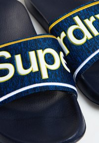 Superdry - College - Badesandale - blue - 3