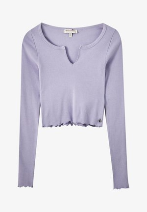 Long sleeved top - mauve