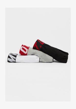 MIT SLOGAN - Boxershorts - red