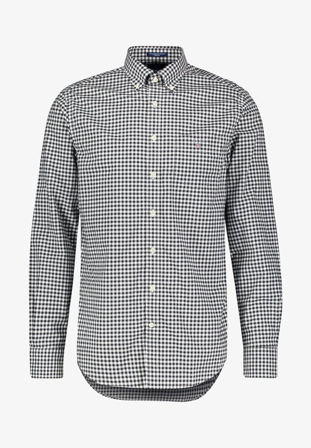 THE BROADCLOTH GINGHAM - Shirt - schwarz