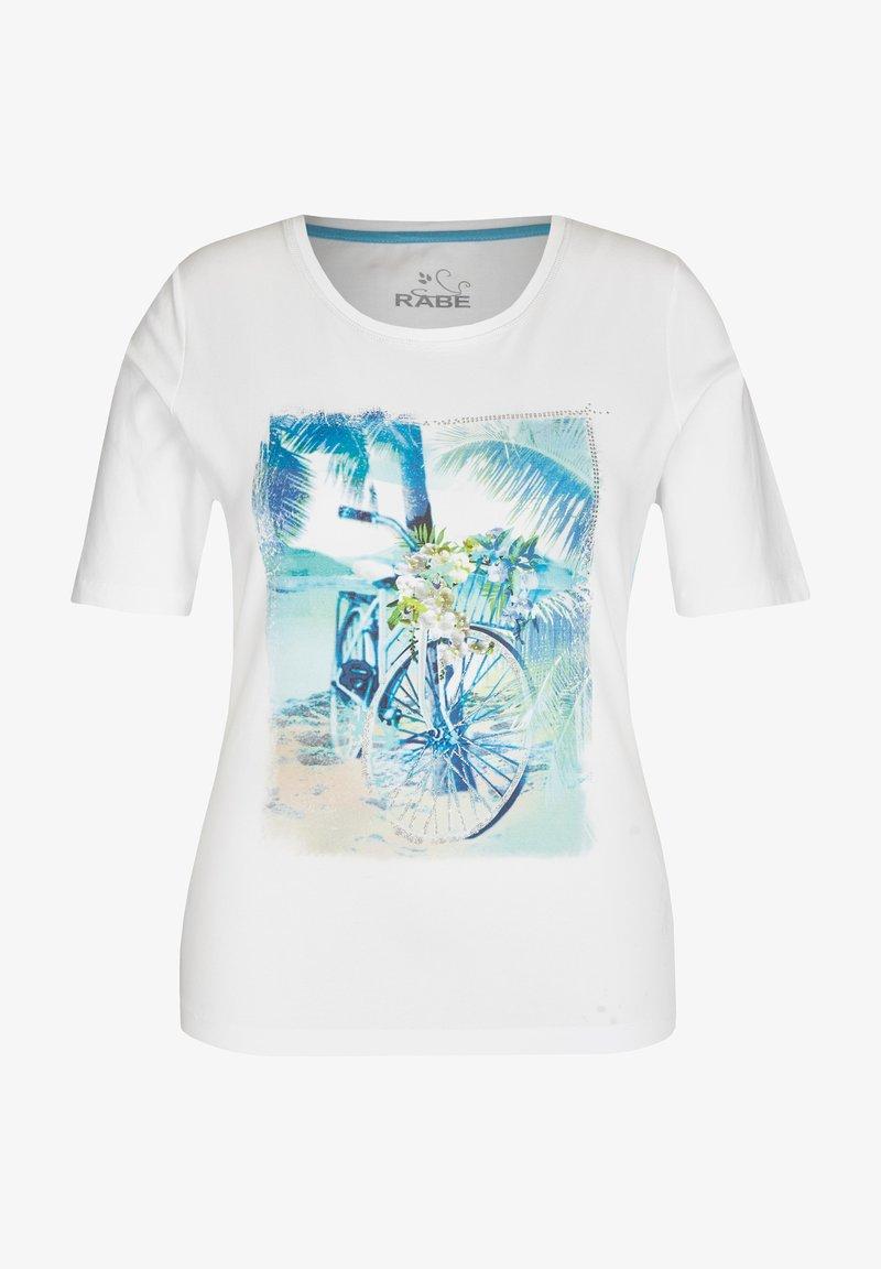 Rabe 1920 - Print T-shirt - white