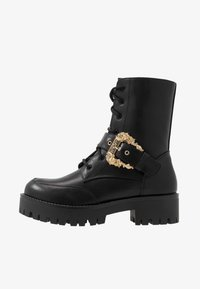 Versace Jeans Couture - Plateaustiefelette - nero - 1
