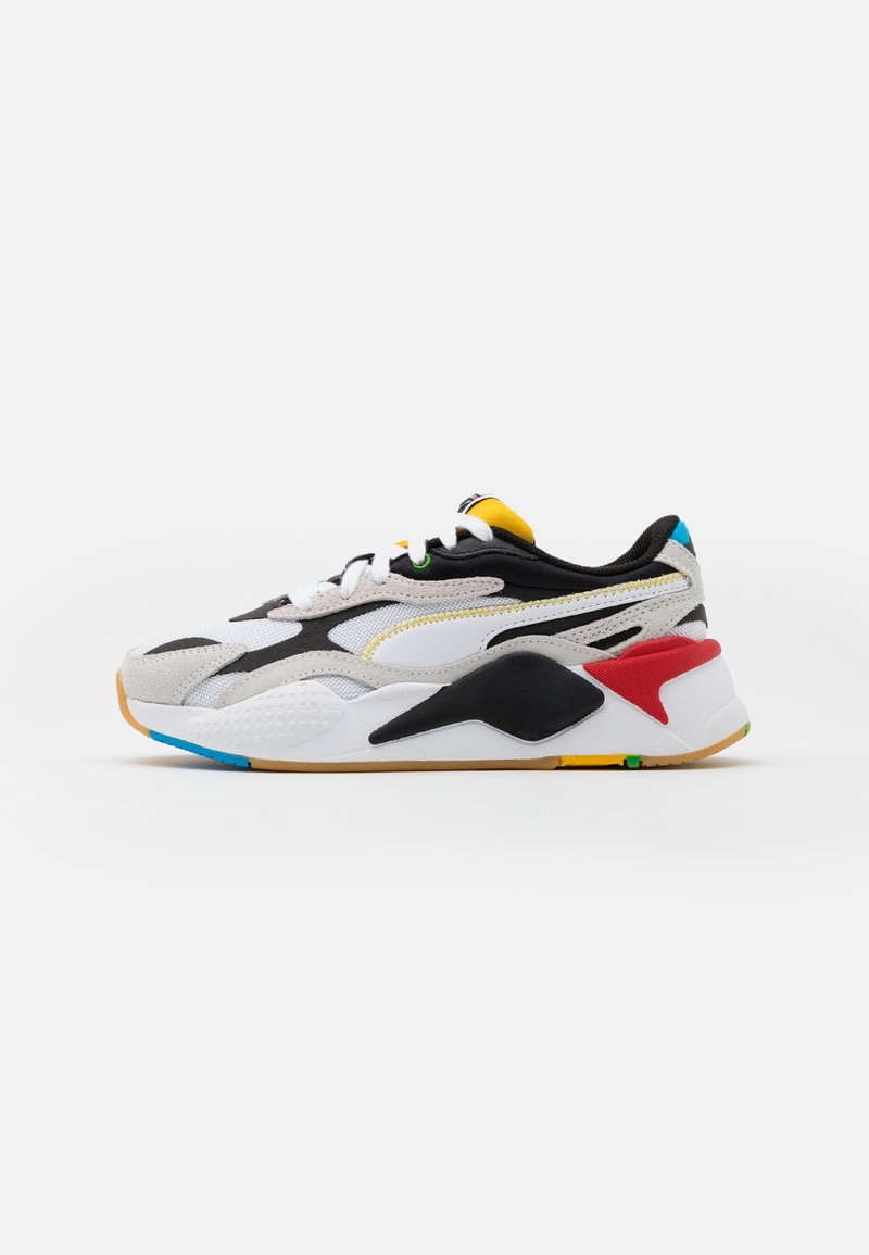Puma - RS-X³ WH JR - Trainers - white/black