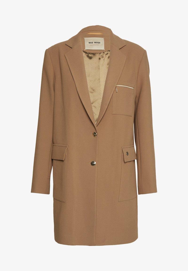 Mos Mosh - CHRISTIE WALL COAT - Short coat - burro camel