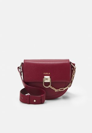 MISS MIMI MINI CROSSBODY - Across body bag - ciliegia