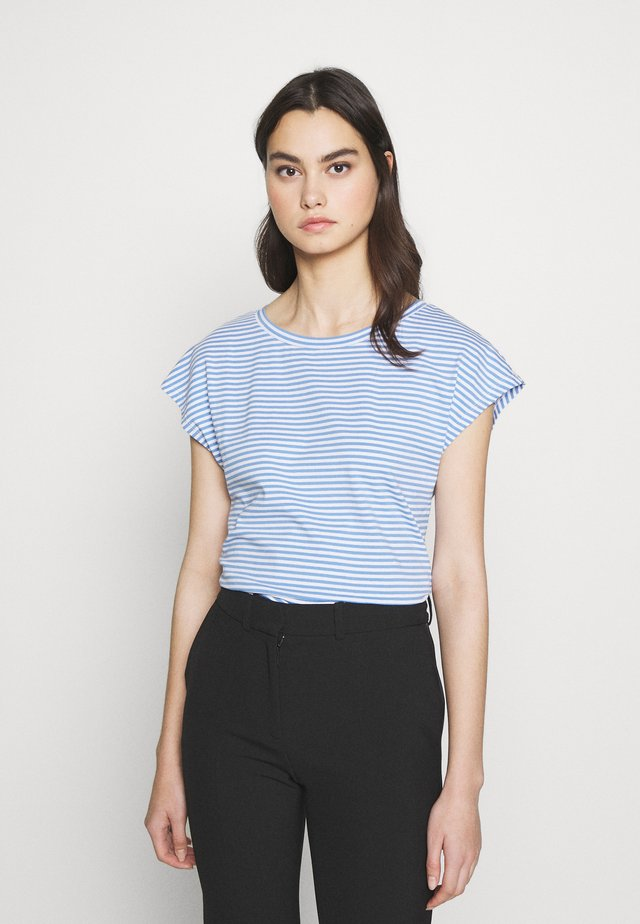 NOREL - T-shirts med print - azurblau