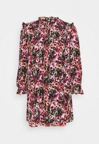 ONLLAVIN SHORT DRESS  - Denní šaty - black