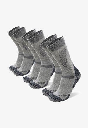 3 PACK - Strømper - light grey