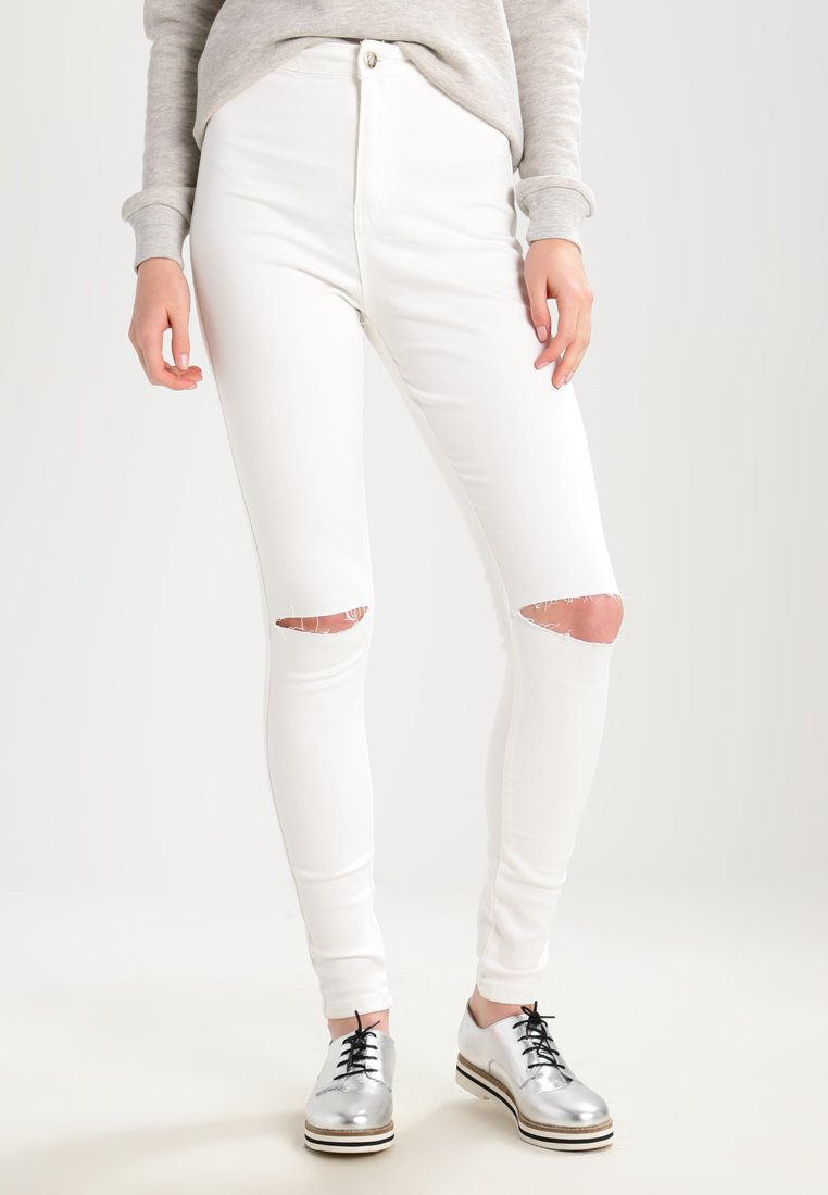 Femme VICE HIGHWAISTED SLASH KNEE SKINNY - Jeans Skinny