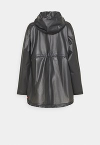 Hunter ORIGINAL - VINYL SMOCK - Parka - black - 1