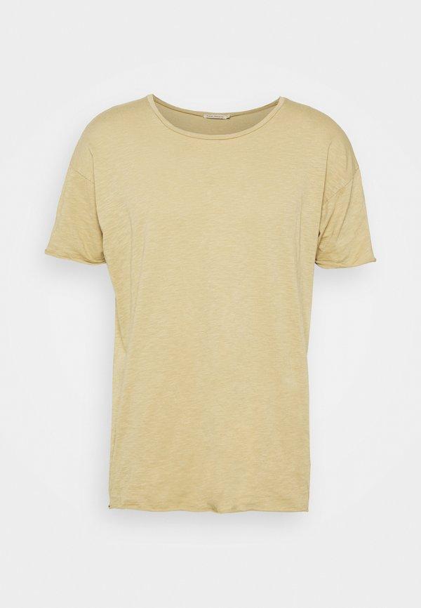 Nudie Jeans ROGER - T-shirt basic - oat/beżowy Odzież Męska FJTG