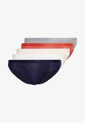 POCKET ECODIMBRIEF 5 PACK - Briefs - infini blue/grey/ballerina pink/red/white