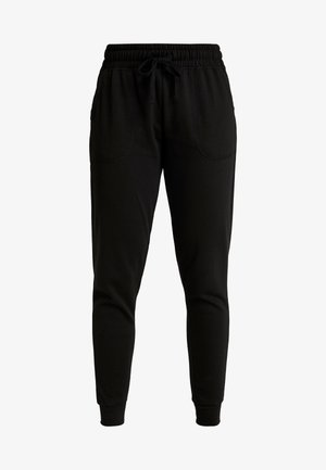 GYM TRACKPANT - Tracksuit bottoms - black