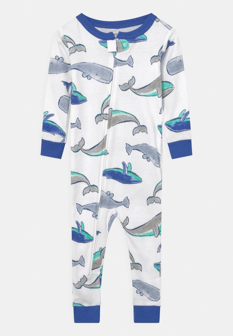 Carter's - WHALE - Pyjamas - white/blue
