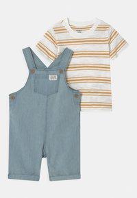 Carter's - SHORTALL SET - Print T-shirt - blue - 0