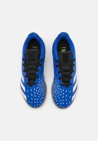 adidas Performance - PREDATOR FREAK 4 IN SALA UNISEX - Indoor football boots - royal blue/footwear white/core black - 3