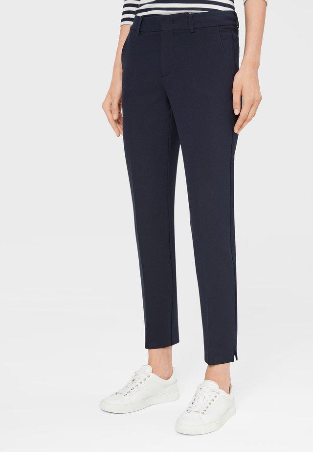 JOY - Pantalon classique - schwarz-blau