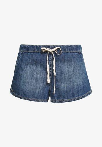 GO TO THE BEACH - Denim shorts - medium blue