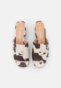 Monki - Heeled mules - white - 5