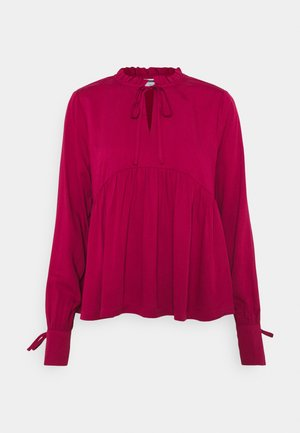 NMAYTA FLARE - Long sleeved top - new maroon