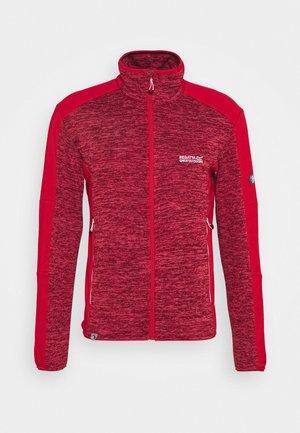 COLADANE - Fleece jacket - tru red
