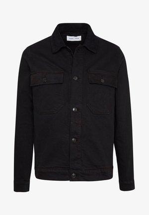 VERONA JACKET - Džínová bunda - black