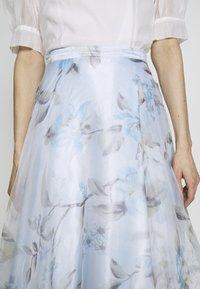Mascara - Maxi skirt - baby blue - 6