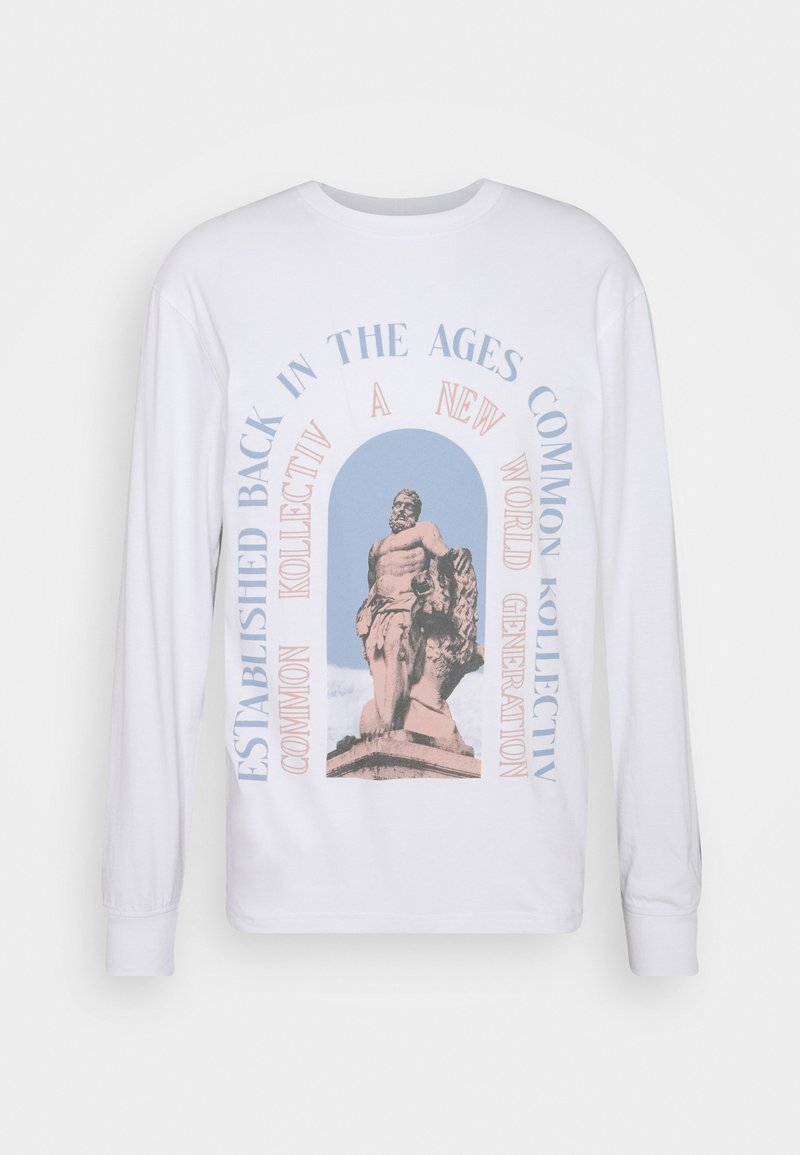 Common Kollectiv - UNISEX GENERATION TEE - Long sleeved top - white