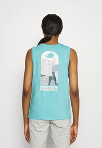 Patagonia - SAVE THE SPLITTERS MUSCLE TEE - Toppe - iggy blue - 2