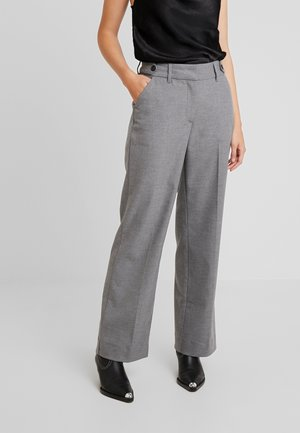 DENA WIDE - Trousers - melange theory
