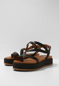 Inuovo - Platform sandals - black blk - 6