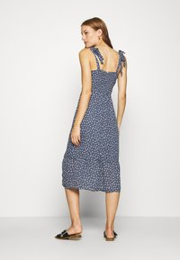 Abercrombie & Fitch - TIE SHOULDER DRESS - Day dress - blue/white - 2