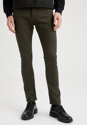 Slim fit jeans - khaki