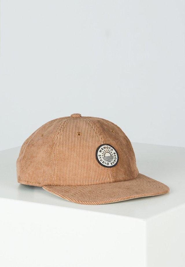 DECONSTRUCTED LIFE  - Cap - brown