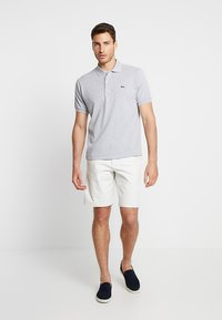 Lacoste - Polo - mottled light grey - 1