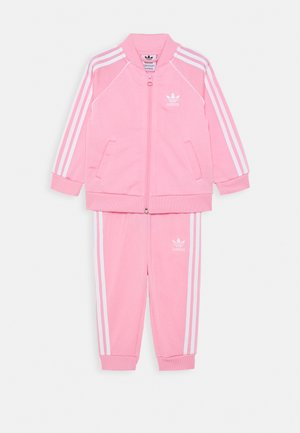 TRACKSUIT SET - Trainingsanzug - pink/white