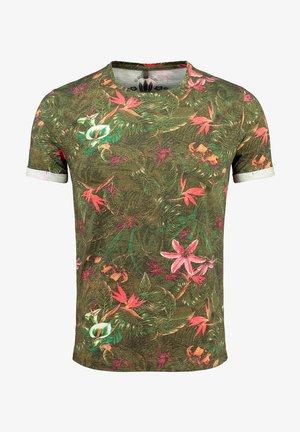 MT JUNGLES - Print T-shirt - olive