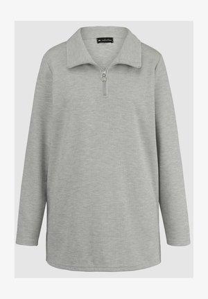 Polo shirt - silbergrau