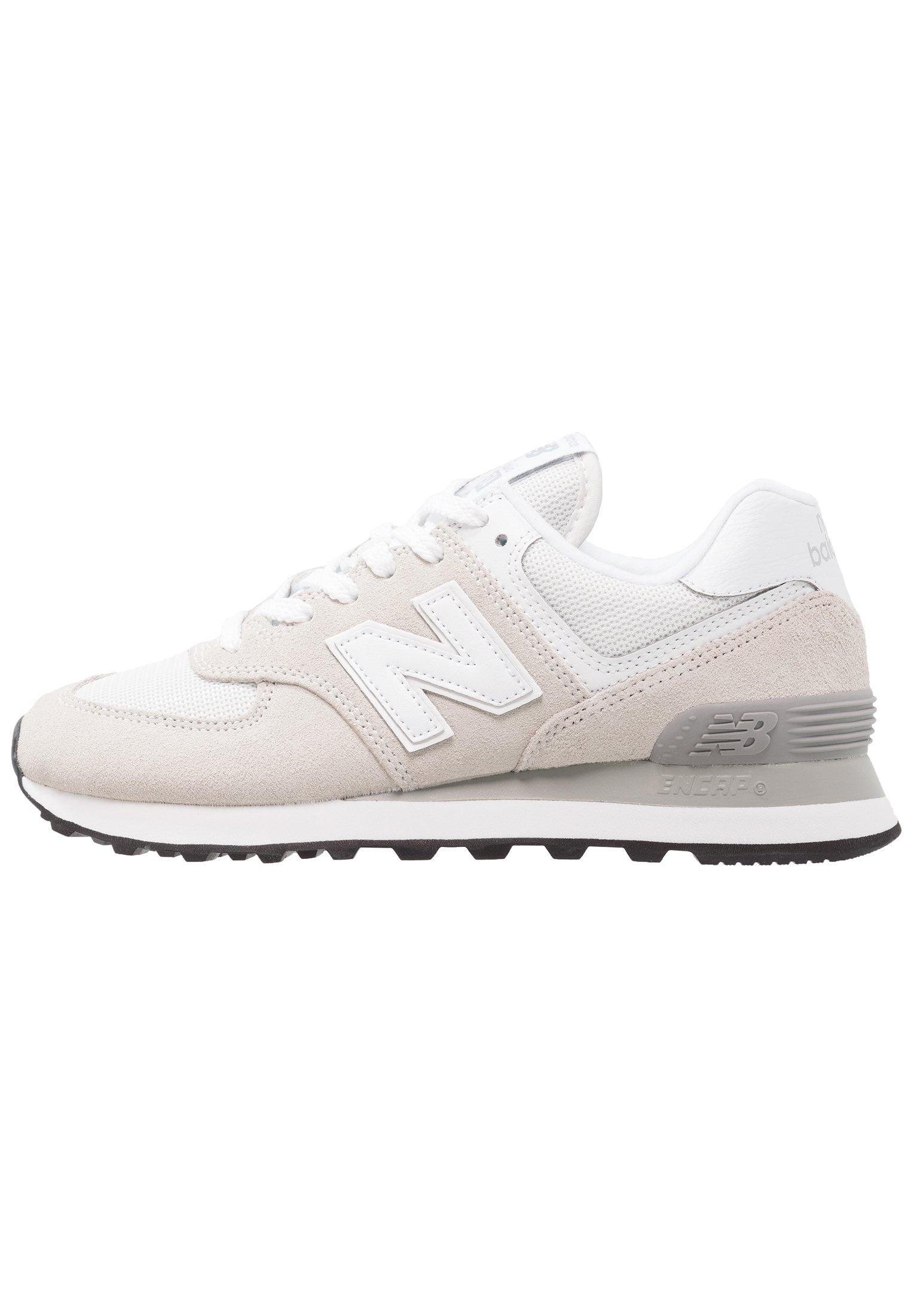 New Balance WL574 - Sneakers basse - white/bianco - Zalando.it