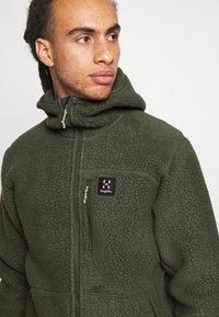Haglöfs - HOOD MEN - Fleece jacket - fjell green - 4