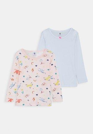 2 PACK - T-shirt à manches longues - pink/blue