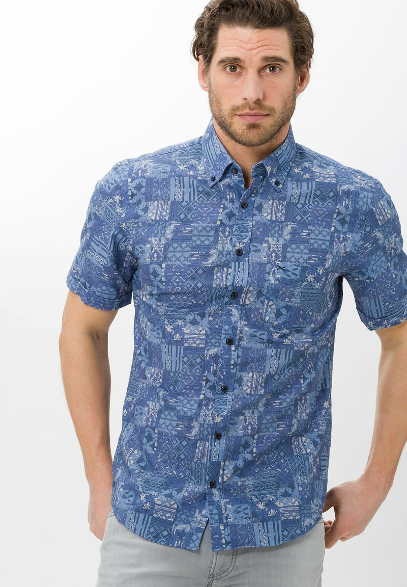 BRAX - Shirt - blau