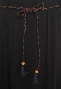 Ragwear - REIKKO - A-line skirt - black - 2