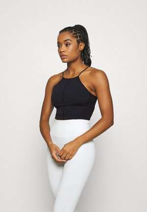 YOGA CROP TANK - Sportshirt - black